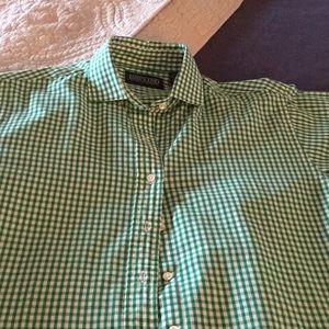 Lands End button down shirt